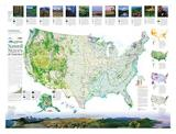 Conservation Map of the U.S. (Side A)