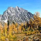 Mt. Stuart in fall